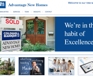 Coldwell Banker Advantage New Homes Web